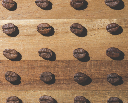 frijoles: modelo del grano de café