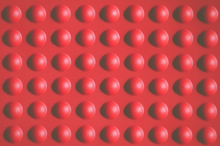 bumps: Red bumps