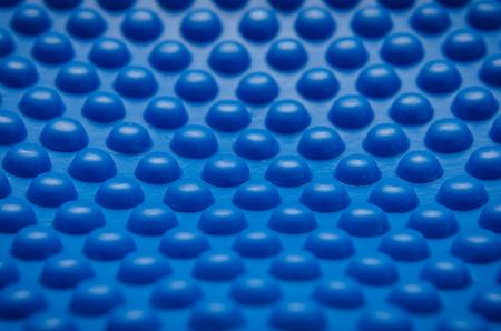 bumpy: Blue and bumpy