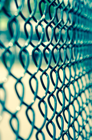 chainlink fence: Fence Stock Photo