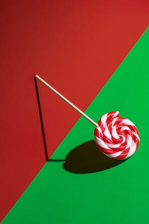 Leaning lollipop Standard-Bild