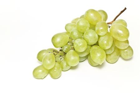 포도 수확: 녹색 포도 스톡 콘텐츠