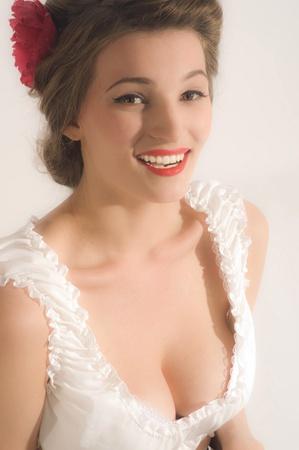 Beauty women portrait photo