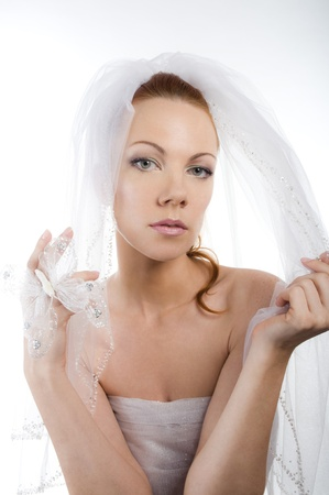 Wedding women portrait  photo