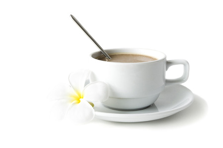 chicory coffee: Cup coffee with milk