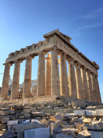Parthenon on Athenian Acropolis