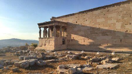 The Porch of the Caryatids prostasis ton koron