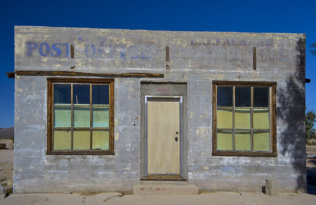 postman of the desert: Old Country Post Office