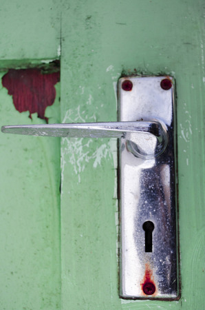 retro door handle photo