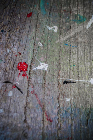 spatter: paint spatter