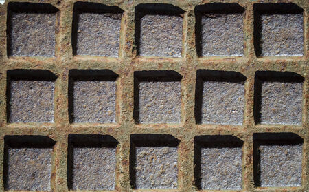 detain: square metal texture Stock Photo
