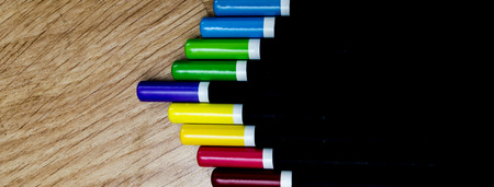art pencils background photo