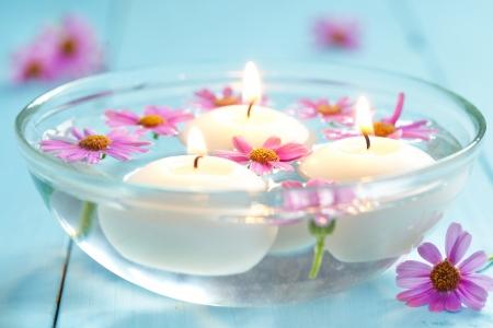 spa still life: spa therapy