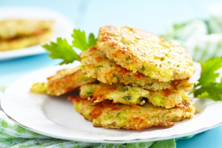 calabacin: crepes de verduras