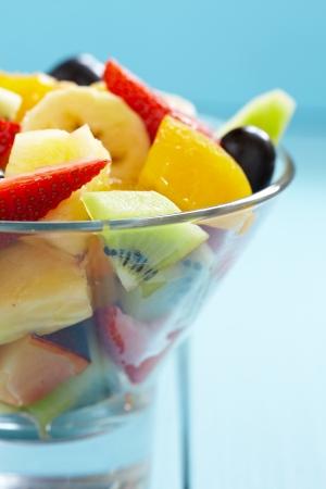 fresh fruits salad photo