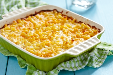 Macaroni and cheese 版權商用圖片