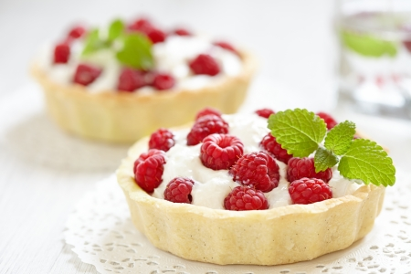 tartlet: Fresh Raspberry Tart
