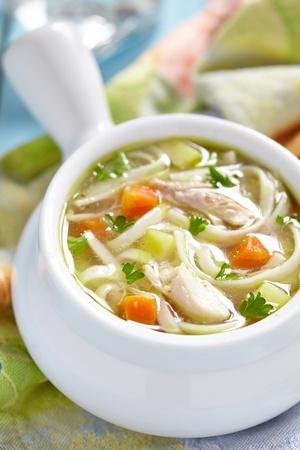 chicken noodle: Chicken noodle soup