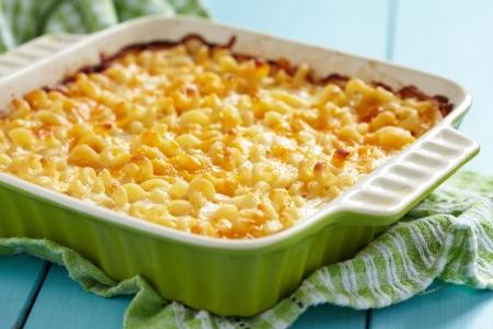 Macaroni and cheese Archivio Fotografico