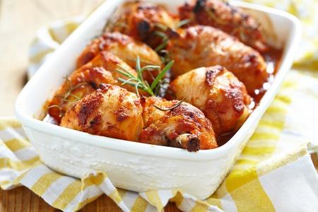 baked chicken: Baked chicken legs