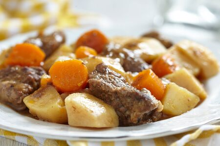 beef stew: Beef stew Stock Photo