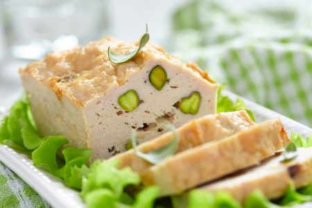 pate: Chicken terrine with pistachios