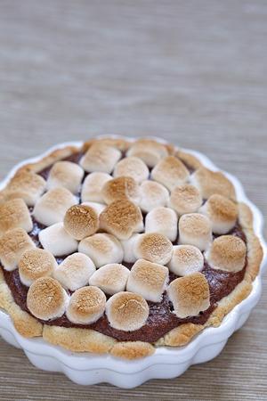 graham: Smore cake with marshmallow, brownie and graham cracker