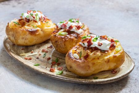 Baked loaded potato