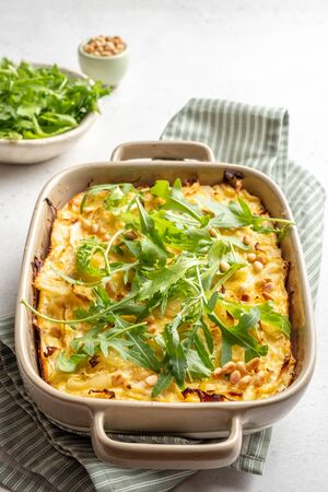casserole with cabbage