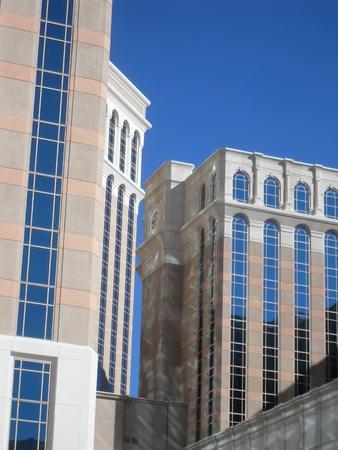 buildings in Las Vegas Banco de Imagens