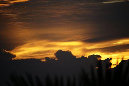 Sea sunset at sea coast of Phuket. Thailand Stock Photo