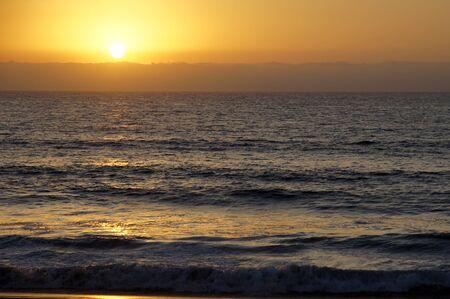 Sunset in Vina del Mar Stock Photo - 11876184