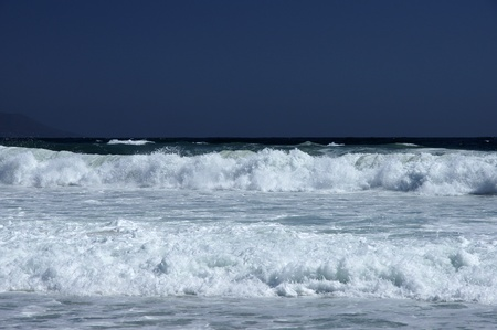 Pacific Ocean. Chile