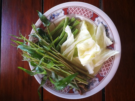 vegetables for eat with Thailand spicy menu
