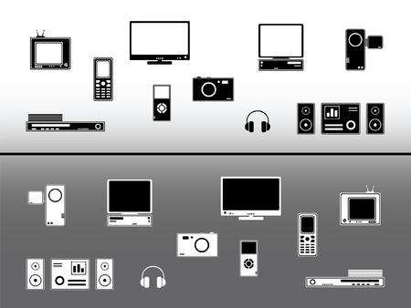 Dispositivos electr�nicos. Elementos de dise�o de tecnolog�a y las comunicaciones  Vectores