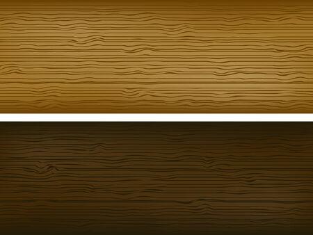 Textura de madera Vectores