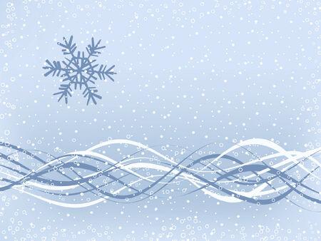 Simple de invierno de fondo  Vectores