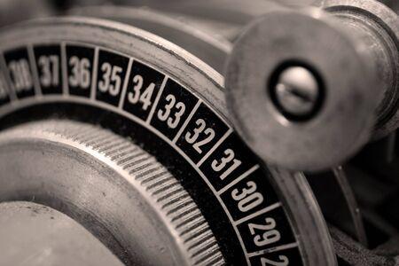 slicer: Analog Film Slicer Stock Photo