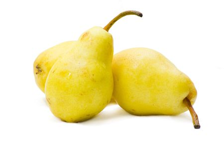 Pears isolated with white background  Stock Photo - 2142330