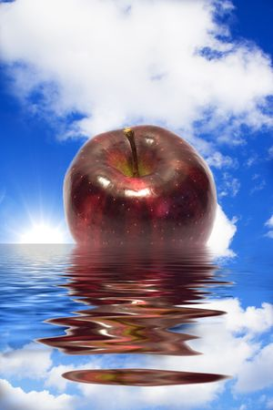 reflection of life: A Big Apple