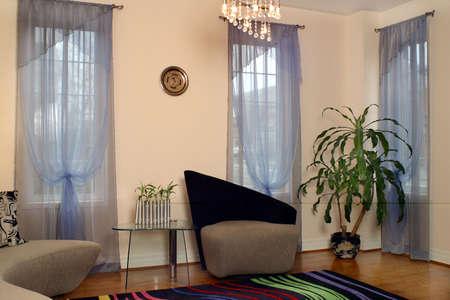 Interior of suburban house
