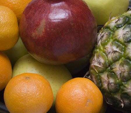 Macro close-up of tropical fruits 4 Reklamní fotografie