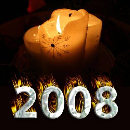 newyear: Happy New Year 2008