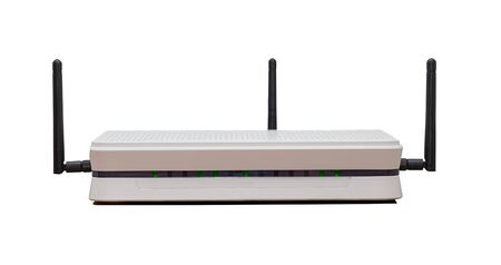 Generic Powerful 3 antenna wireless n router photo