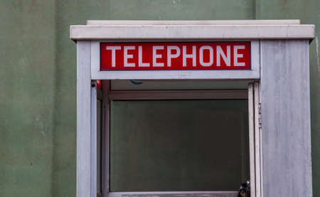 Phone box sign Stock Photo - 18854928