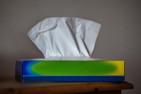 Tissues in a box photo