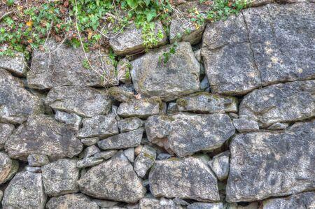 Stone wall back ground photo