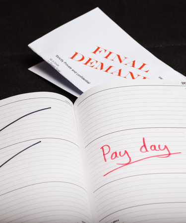 Pay day loan concept shot Stock Photo