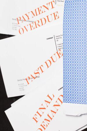 debt collection: Collection of debt collection letters (no real customer info used!)