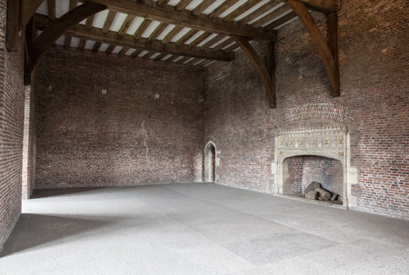 empty warehouse: Large old empty room